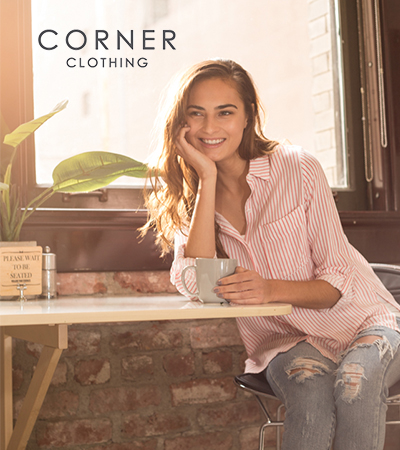 Corner Clothing  - menu