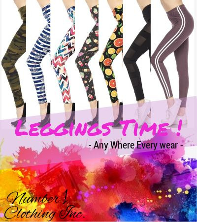 Number 1 Clothing, Inc. - leggings