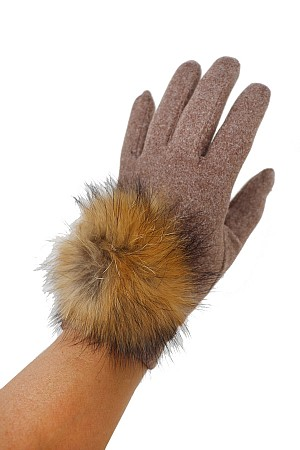 Wool feel Touch Grip Round Ext ...